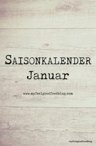 Saisonkalender für Obst und Gemüse im Januar