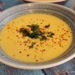 Thai Erdnuss Suppe mit asiatischer Laugenpraline 2