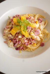 Orangen-Fenchel-Pasta