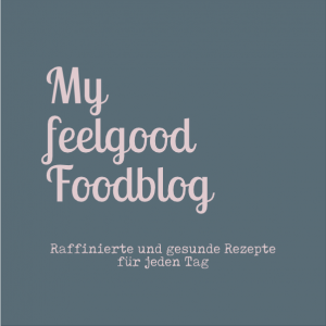 my feel good foodblog Logo