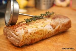 Schweinefilet Kartoffel-Lauch-Apfel