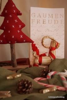 Weihnachtsessen - Weihnachtsdeko