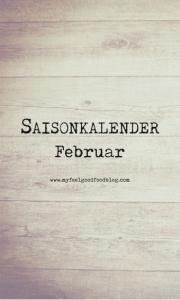 Saisonkalender Februar