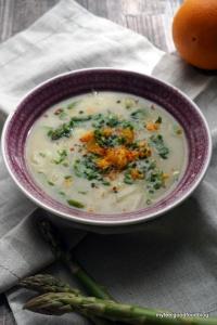 Detox Days -Basenfasten - SpargDetox Days -Basenfasten - Spargel Orangen Suppeel Orangen Suppe