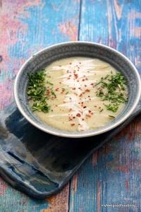 Detox Days -Basenfasten - Sellerie Kartofell Suppe
