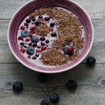 Detox Days -Basenfasten - Blueberry Porridge