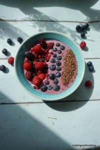 Clean Red Berry Porridge
