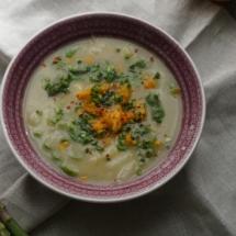 Detox Days -Basenfasten - Spargel Orangen Suppe