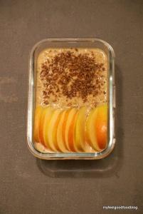 Detox Days -Basenfasten - Apple Cinnamon Porridge