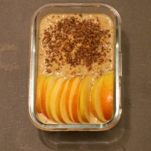 Detox Days -Basenfasten - Apple Cinnamon Porridge