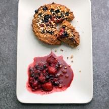 Healthy Oatmeal Cake - Kuchen zurm FrühstückHealthy Oatmeal Cake - Kuchen zurm Frühstück