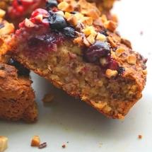 Healthy Oatmeal Cake - Kuchen zurm Frühstück